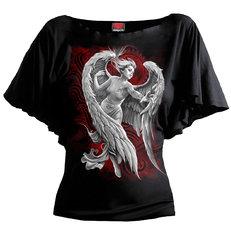 Tricou damă cu voal Îngerul fără speranță