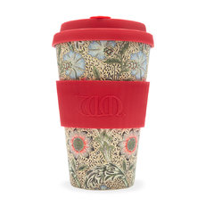 Bambus Ecoffee Cup Corncockle William Morris