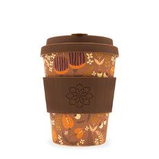 Bambusový ecoffee cup Květiny