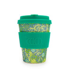 Bambusový ecoffee cup Seaweed green William Morris