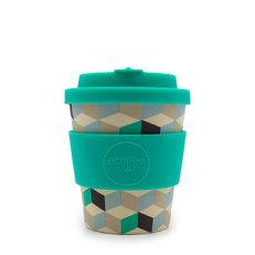 Bambus Mini Ecoffee Cup 3D Würfel