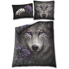 Lenjerie de pat plapumă dublă Sufletul lupului