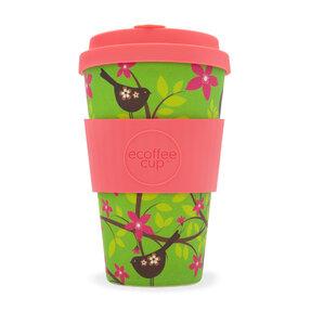 Bambusový ecoffee cup 2.0 Vtáčik