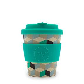 Mini bambusový ecoffee cup 2.0 3D kocky