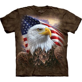 Tričko Profil amerického orla