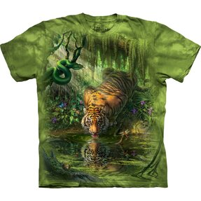 T-shirt Thirsty Tiger