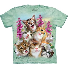 T-shirt Crazy Cats