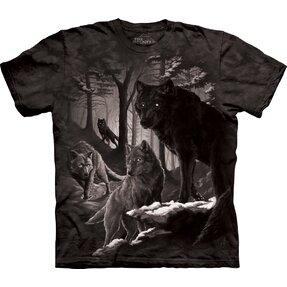Tricou Întunericul cu lupii