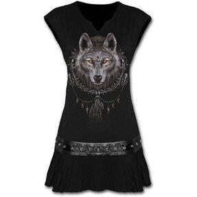 Mini Dress Wolf's Gaze