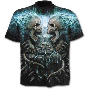 T-Shirt Blaue Flamme