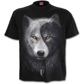 T-shirt Wolf's Face