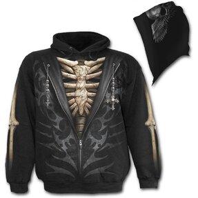 Sweatshirt mit Kapuze Todesanzug