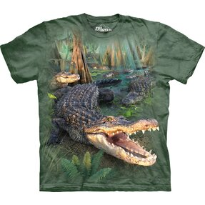 T-shirt Furious Crocodile Child
