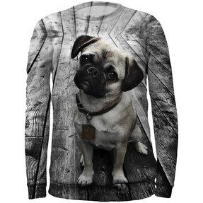 Kids' Sweatshirt Pug