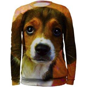 Kids' Sweatshirt Beagle Puppy