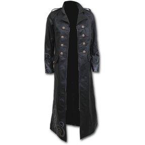 Dlhý kabát Záhon ruží