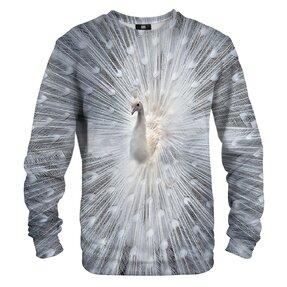 Sweatshirt White Peacock