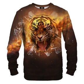 Mikina bez kapucne Tigrie sklo