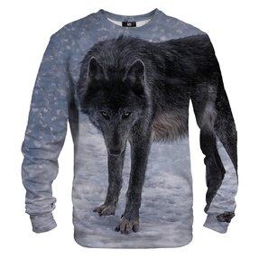 Mikina bez kapucne Vlk čierny