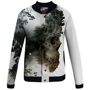 Transitional Baseball Jacket Dying Nature