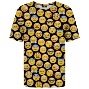 T-shirt with Short Sleeve Emoji