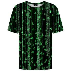 Tričko s krátkym rukávom Kryptomeny