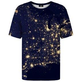 T-Shirt mit kurzen Ärmeln Nachthimmel