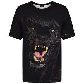 T-shirt with Short Sleeve Furious Panther