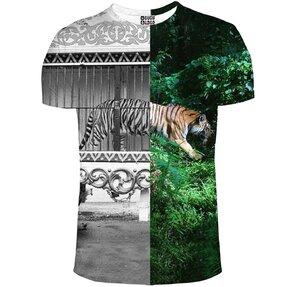 T-shirt Tiger Cage