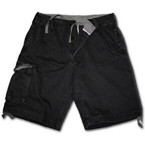 Pantaloni scurţi bărbaţi cu motiv Neagră