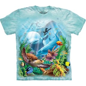 Detské tričko s krátkym rukávom Morské živočíchy