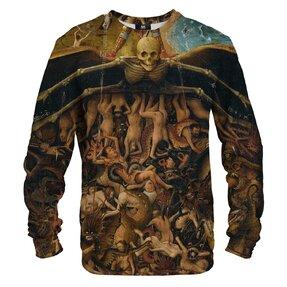 Sweatshirt ohne Kapuze Jüngstes Gericht