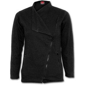 Dámska tepláková bunda na zips Čierna