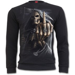 Sweatshirt without Hood Finger Bones