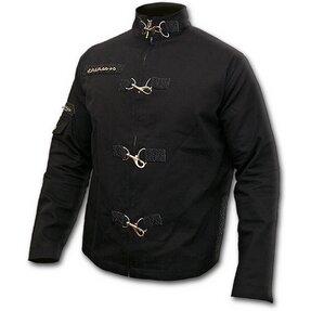 Orient Jacke Denim Schwarz