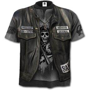 Tričko s motívom Sons of Anarchy Jax