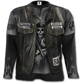 Long Sleeve with design Sons of Anarchy Jax