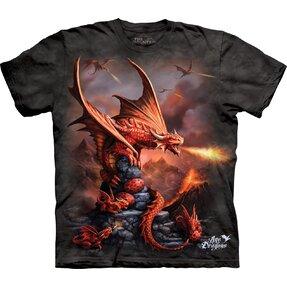 Tričko s krátkym rukávom Útok drakov