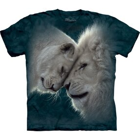T-shirt with Short Sleeve Lion Love