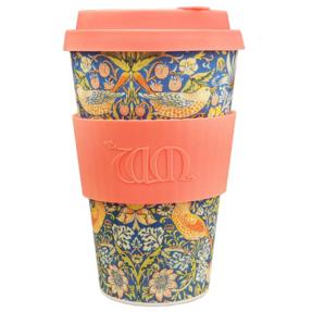 Bambusový ecoffee cup 2.0 Thief William Morris