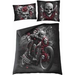 Posteľné obliečky na dvojpaplónSpiral Direct Mŕtvy motorkár