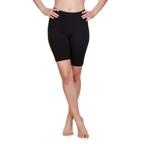 Cotton Biker Shorts Black