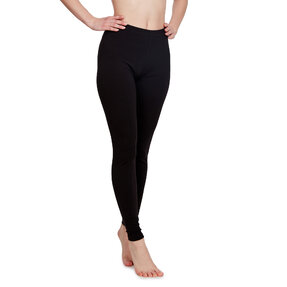 Fekete pamut leggings