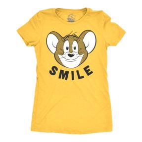 Ladie's T-shirt Tom & Jerry - Smile