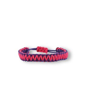 Microcord Survival Armband King Cobra violett-rosa
