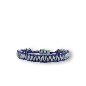 Microcord Survival Armband King Cobra violett-grau