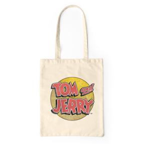 Plátená taška Tom a Jerry ™ Logo