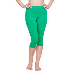 Zöld3/4 pamut leggings