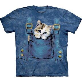 T-Shirt Katze im Sack