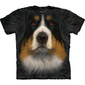 Tričko Tvár bernského salašníckeho psa